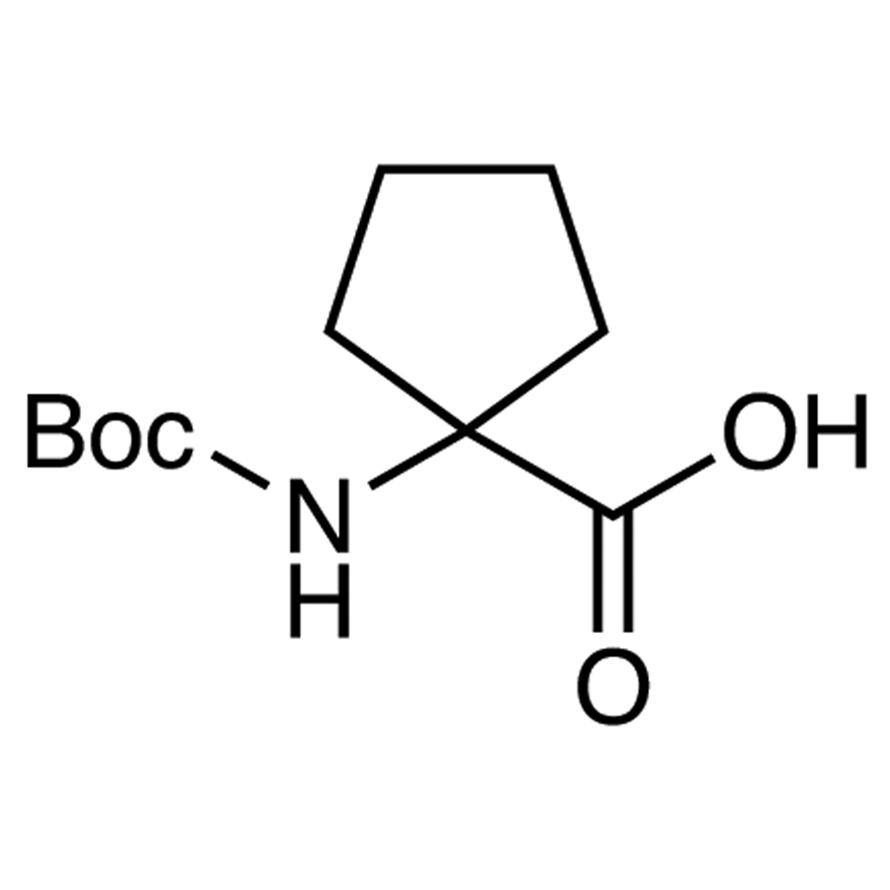 1-(tert-Butoxycarbonylamino)cyclopentanecarboxylic Acid