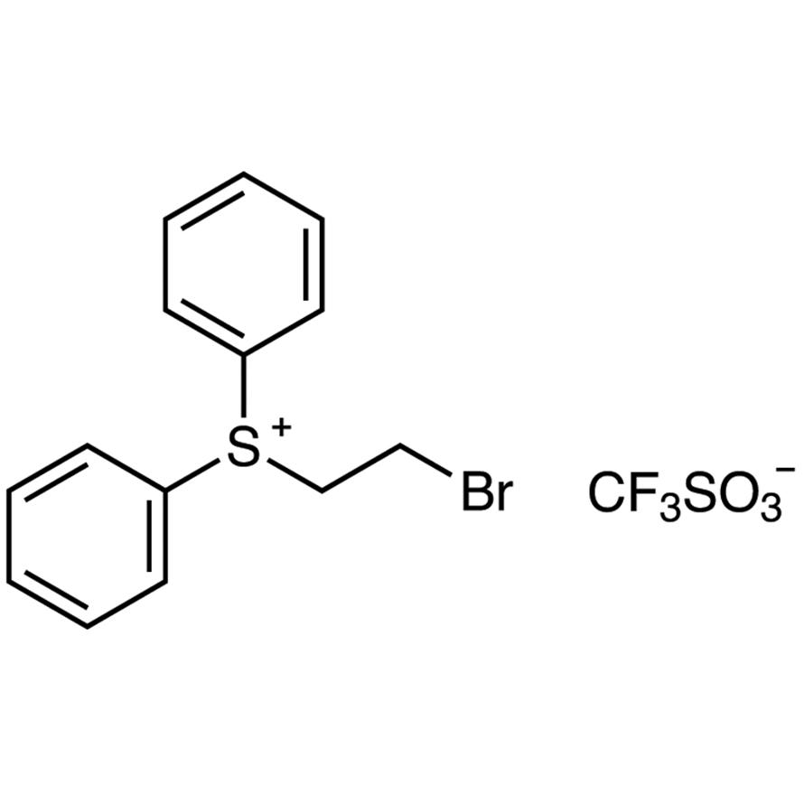 (2-Bromoethyl)diphenylsulfonium Trifluoromethanesulfonate