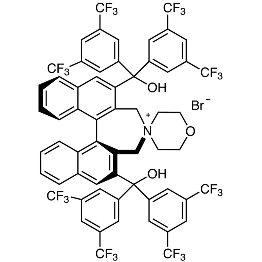 (11bS)-2,6-Bis[bis[3,5-bis(trifluoromethyl)phenyl]hydroxymethyl]-3,5-dihydrospiro[4H-dinaphth[2,1-c:1',2'-e]azepine-4,4'-morpholinium] Bromide
