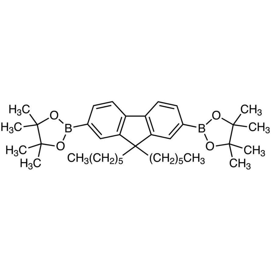 2,7-Bis(4,4,5,5-tetramethyl-1,3,2-dioxaborolan-2-yl)-9,9-dihexylfluorene