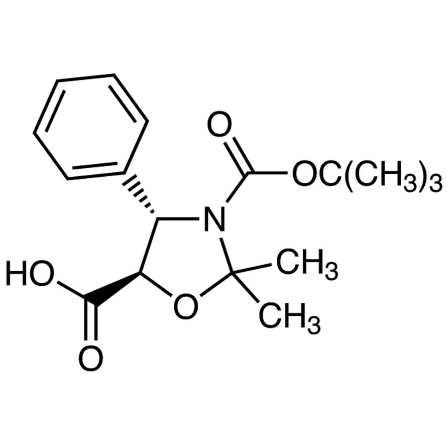 (4S,5R)-3-(tert-Butoxycarbonyl)-2,2-dimethyl-4-phenyl-1,3-oxazolidine-5-carboxylic Acid