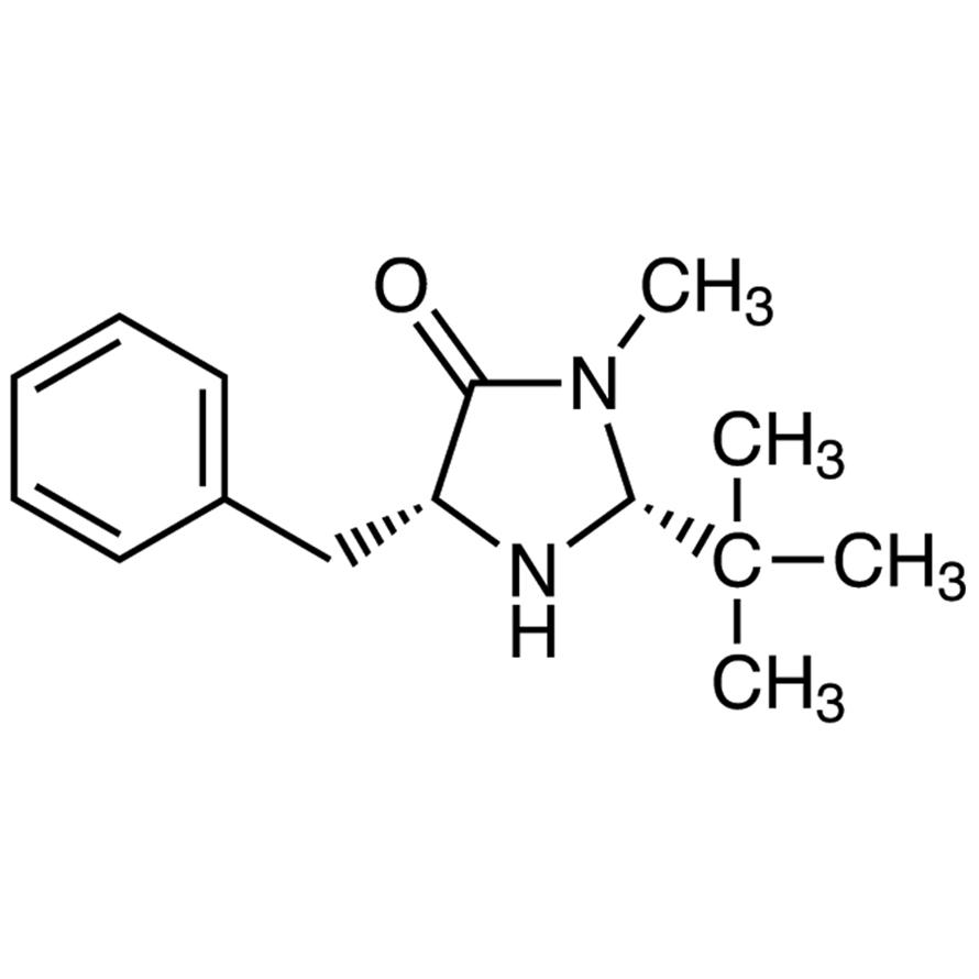 (2R,5R)-(+)-2-tert-Butyl-3-methyl-5-benzyl-4-imidazolidinone