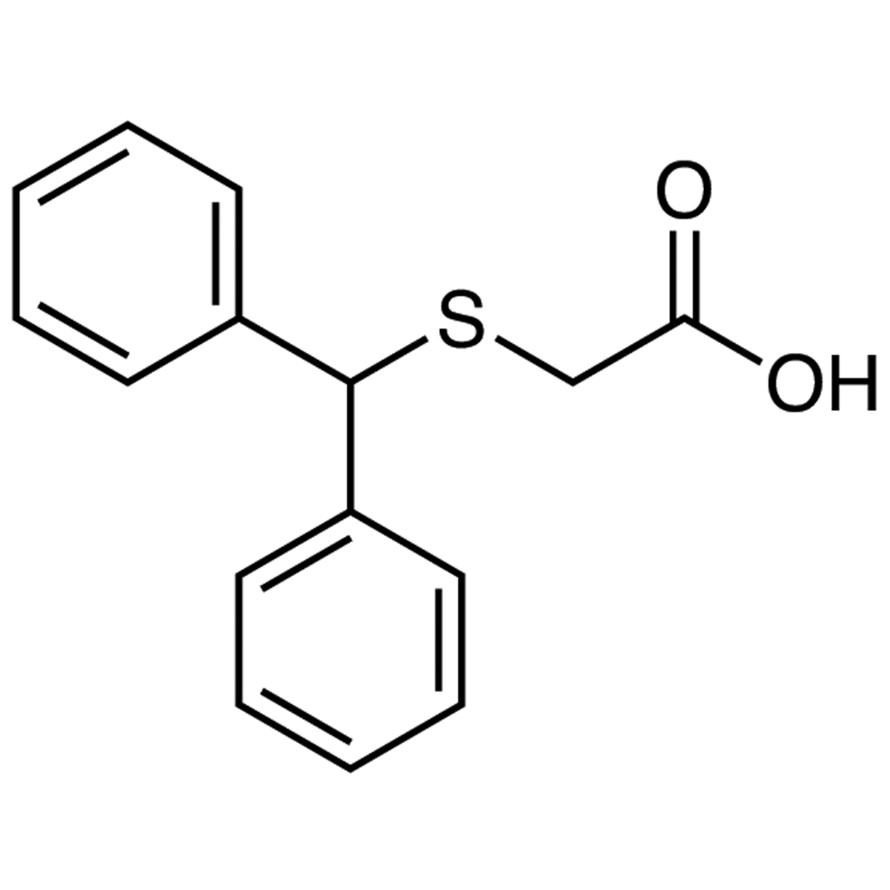 (Benzhydrylthio)acetic Acid
