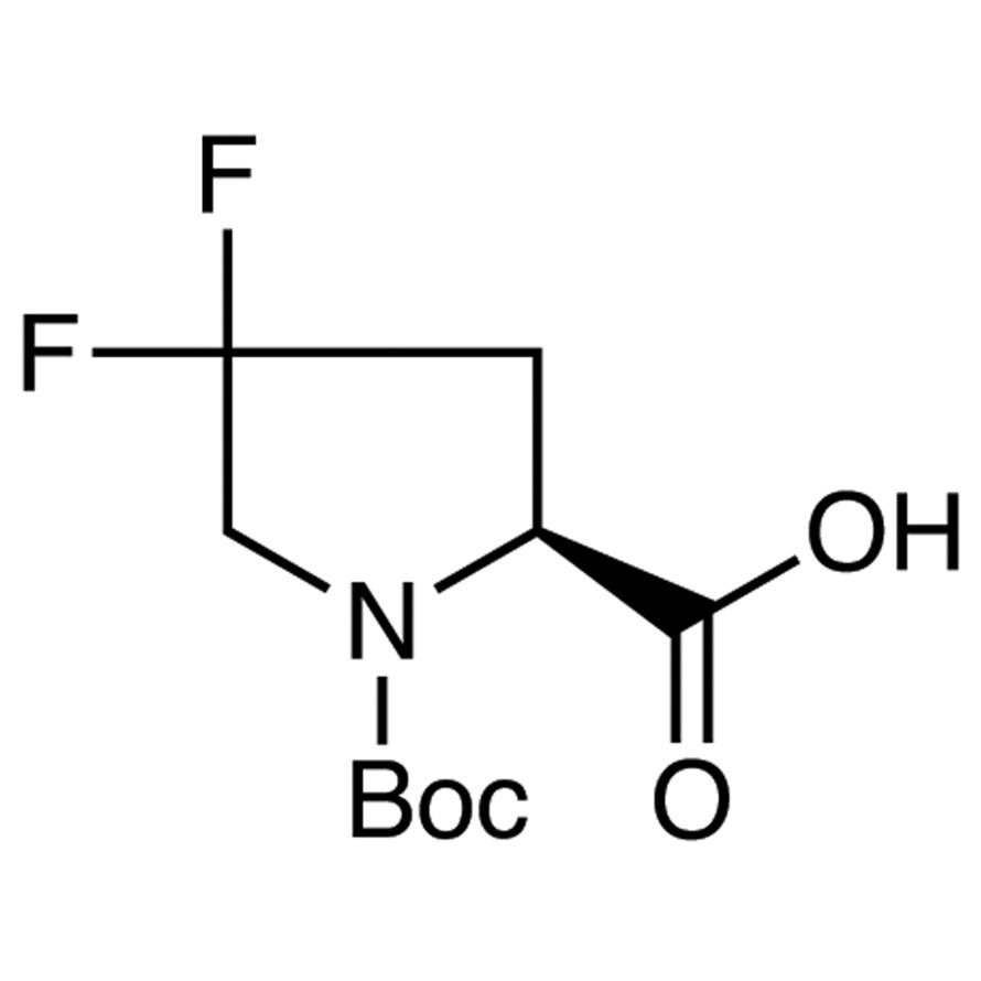 (S)-1-(tert-Butoxycarbonyl)-4,4-difluoro-2-pyrrolidinecarboxylic Acid