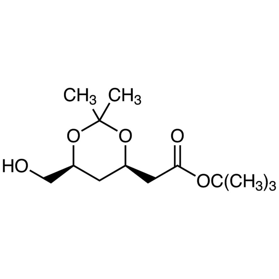 tert-Butyl (4R,6S)-6-(Hydroxymethyl)-2,2-dimethyl-1,3-dioxane-4-acetate