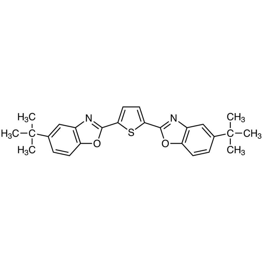 2,5-Bis(5-tert-butyl-2-benzoxazolyl)thiophene (purified by sublimation)