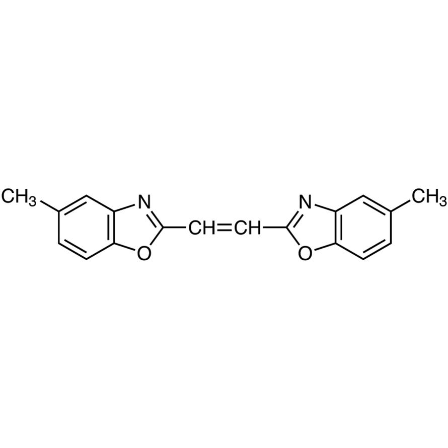 1,2-Bis(5-methyl-2-benzoxazolyl)ethylene