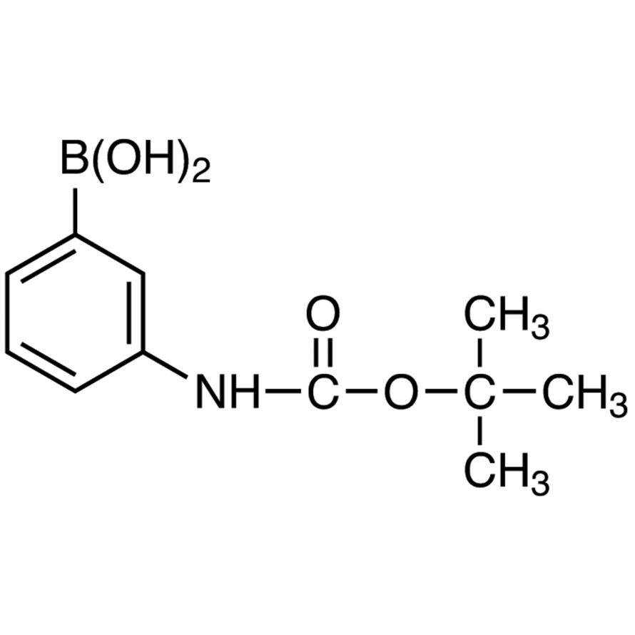3-[(tert-Butoxycarbonyl)amino]phenylboronic Acid (contains varying amounts of Anhydride)