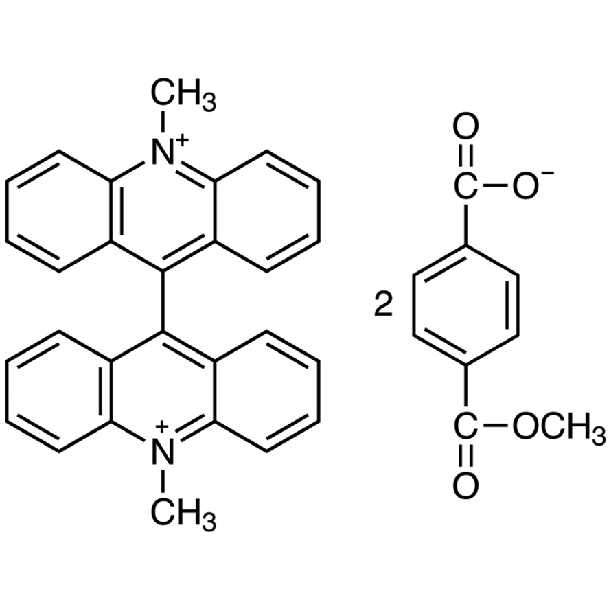 10,10'-Dimethyl-9,9'-biacridinium Bis(monomethyl Terephthalate) [for Chemiluminescence Research]