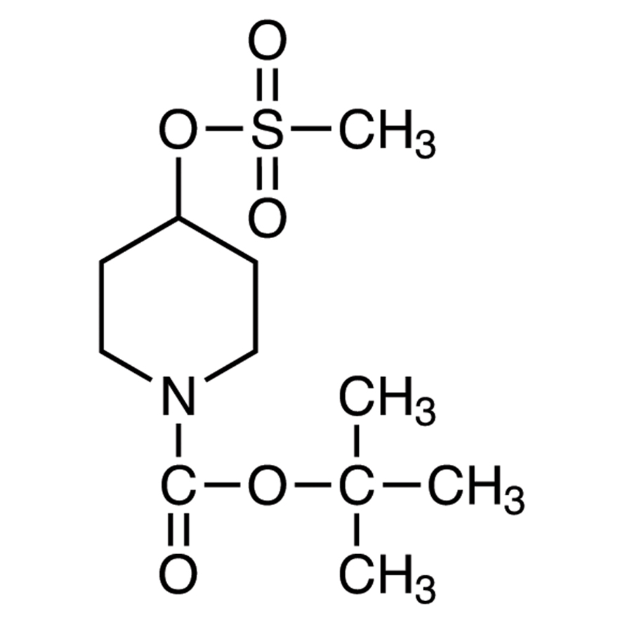 1-(tert-Butoxycarbonyl)-4-(methanesulfonyloxy)piperidine