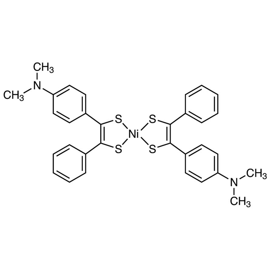 Bis(4-dimethylaminodithiobenzil)nickel(II)