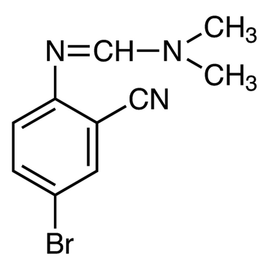 N'-(4-Bromo-2-cyanophenyl)-N,N-dimethylformamidine
