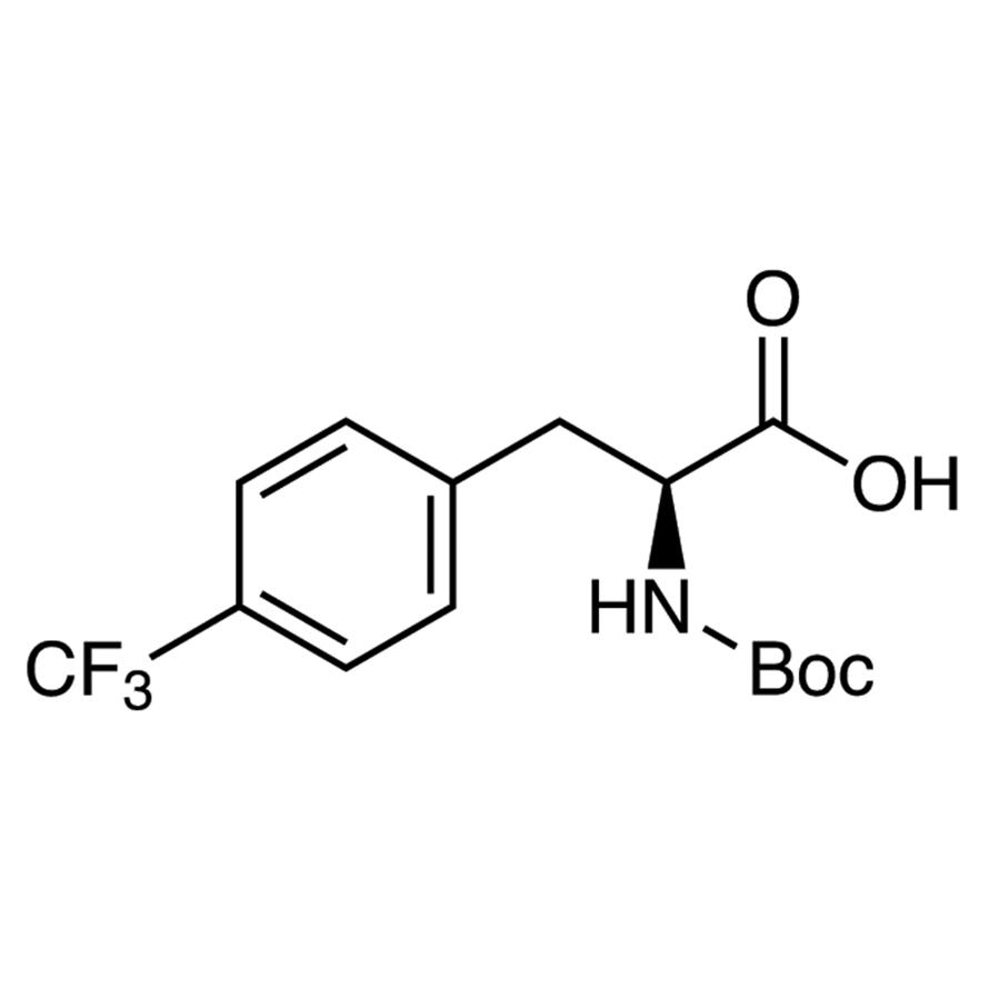 N-(tert-Butoxycarbonyl)-4-trifluoromethyl-L-phenylalanine