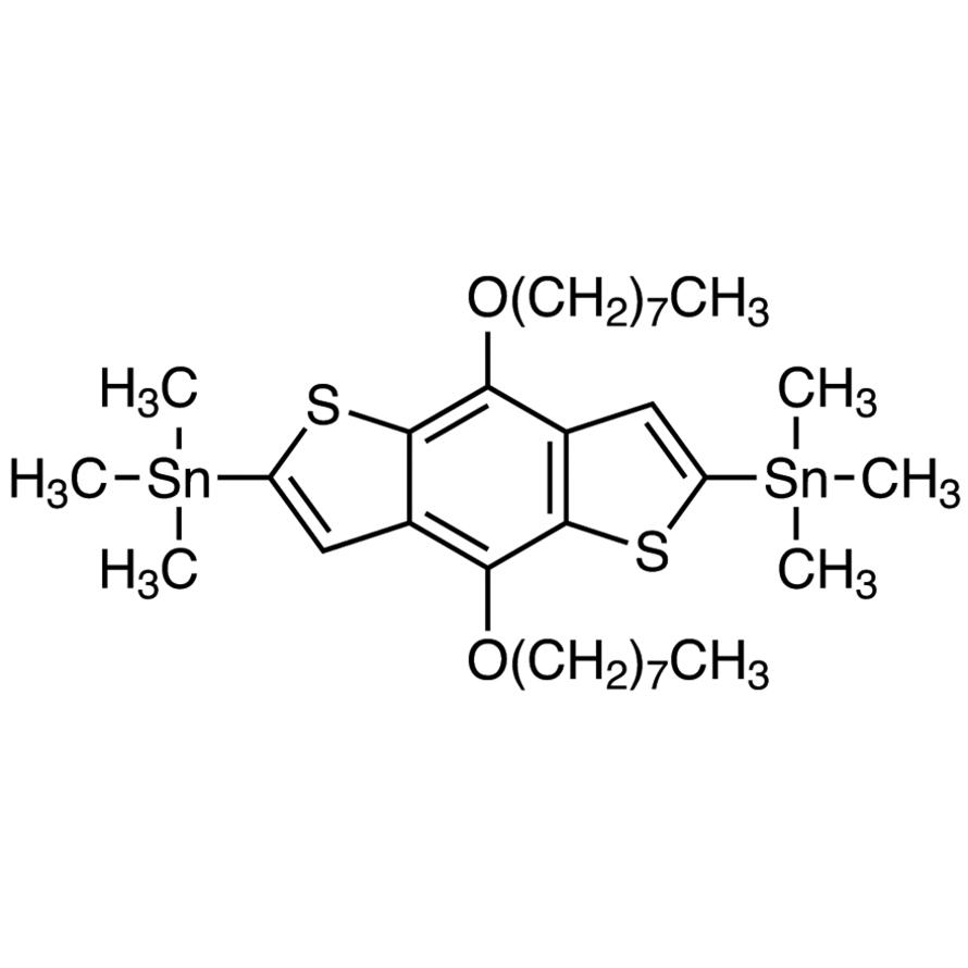 4,8-Bis(n-octyloxy)-2,6-bis(trimethylstannyl)benzo[1,2-b:4,5-b']dithiophene