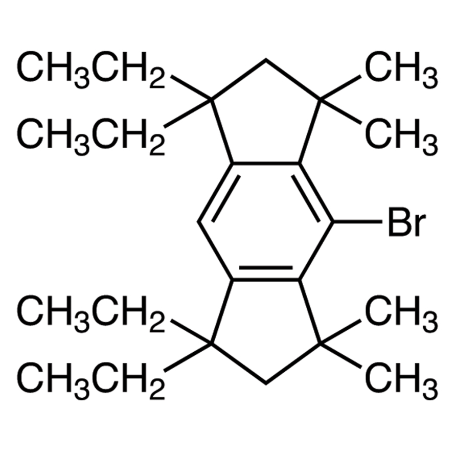 4-Bromo-1,1,7,7-tetraethyl-1,2,3,5,6,7-hexahydro-3,3,5,5-tetramethyl-s-indacene