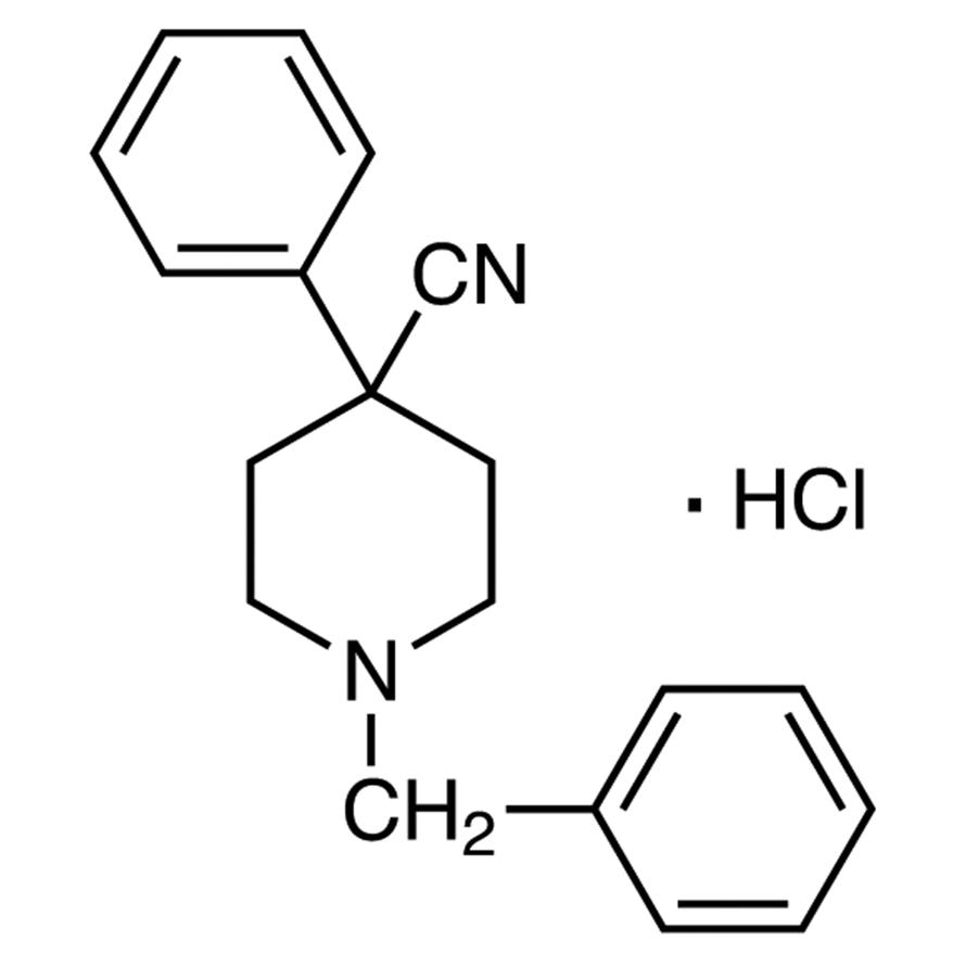 1-Benzyl-4-cyano-4-phenylpiperidine Hydrochloride