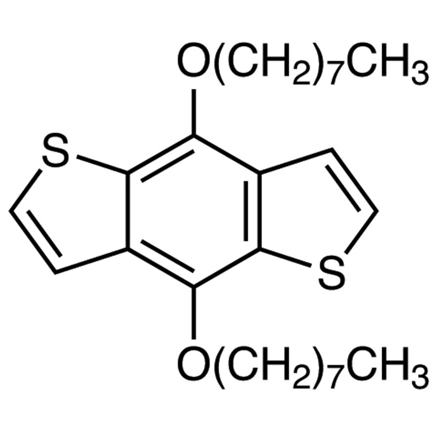 4,8-Bis-n-octyloxybenzo[1,2-b:4,5-b']dithiophene