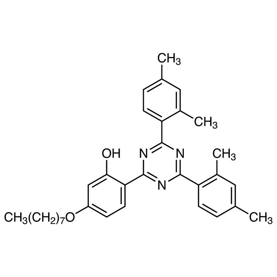 2,4-Bis(2,4-dimethylphenyl)-6-(2-hydroxy-4-n-octyloxyphenyl)-1,3,5-triazine
