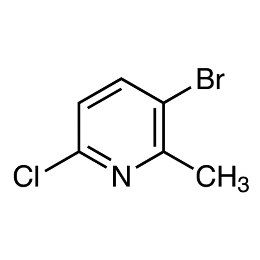 3-Bromo-6-chloro-2-methylpyridine