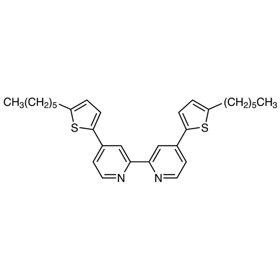 4,4'-Bis(5-hexyl-2-thienyl)-2,2'-bipyridyl