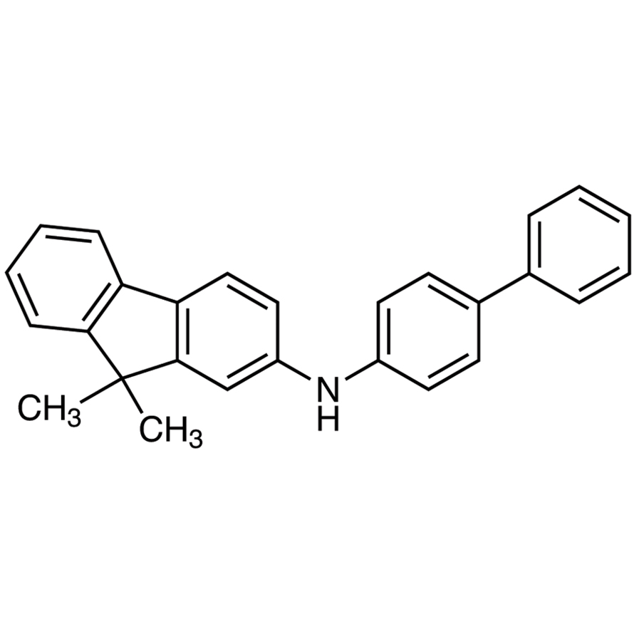 2-(4-Biphenylyl)amino-9,9-dimethylfluorene