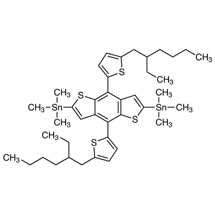 4,8-Bis[5-(2-ethylhexyl)thiophen-2-yl]-2,6-bis(trimethylstannyl)benzo[1,2-b:4,5-b']dithiophene