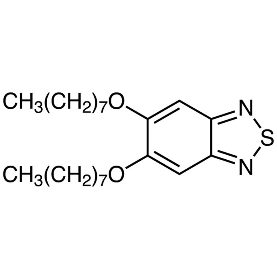 5,6-Bis(n-octyloxy)-2,1,3-benzothiadiazole