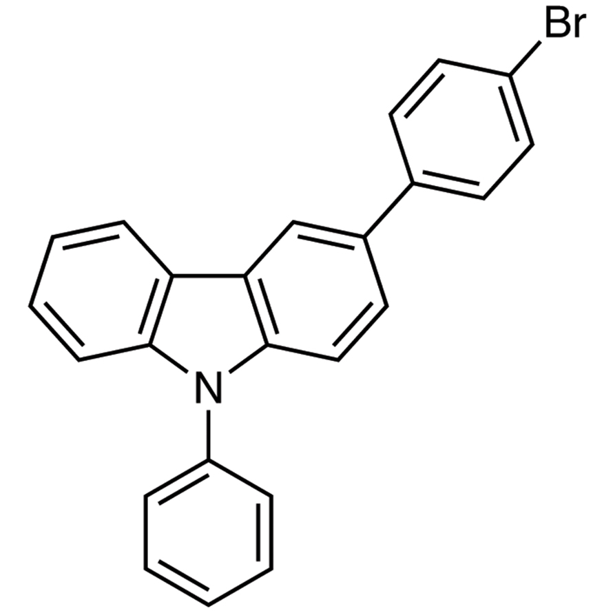 3-(4-Bromophenyl)-9-phenylcarbazole