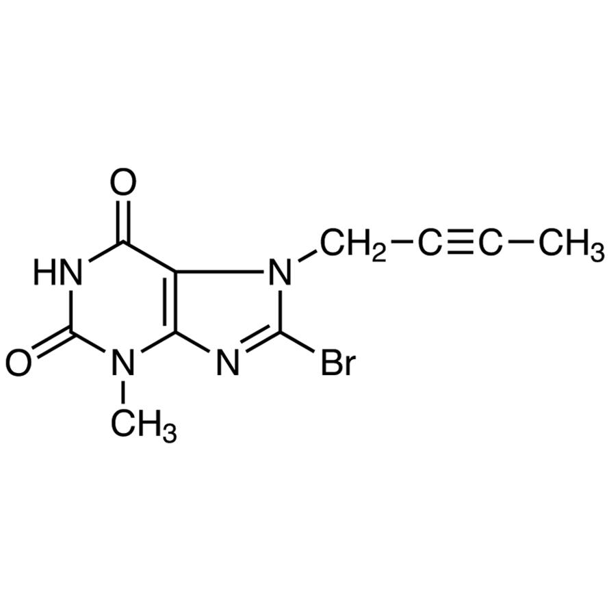 8-Bromo-7-(2-butyn-1-yl)-3-methylxanthine