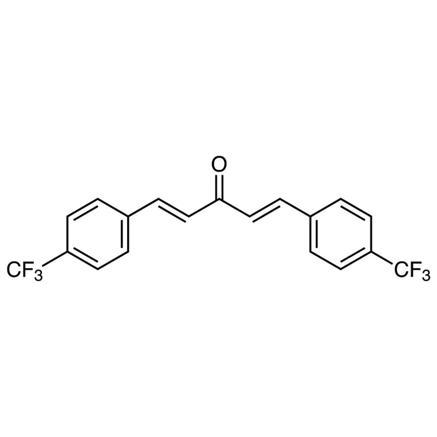 trans,trans-1,5-Bis[4-(trifluoromethyl)phenyl]-1,4-pentadien-3-one