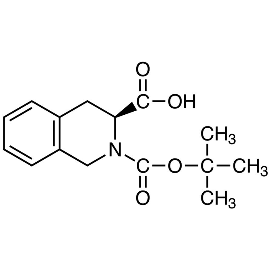 (S)-2-(tert-Butoxycarbonyl)-1,2,3,4-tetrahydroisoquinoline-3-carboxylic Acid