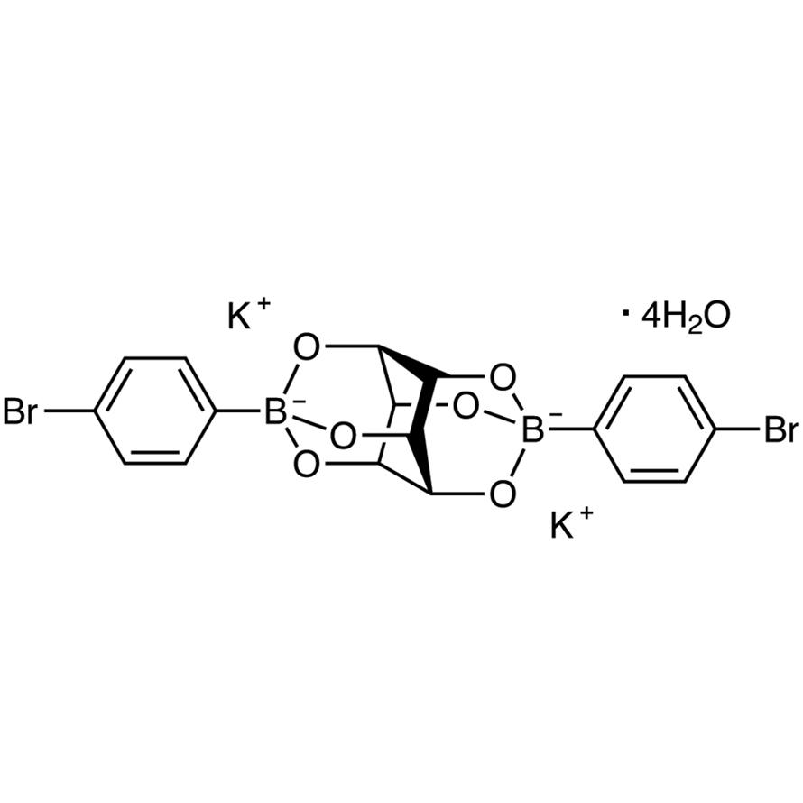 Bis(4-bromophenylboronic Acid) scyllo-Inositol Complex Dipotassium Tetrahydrate