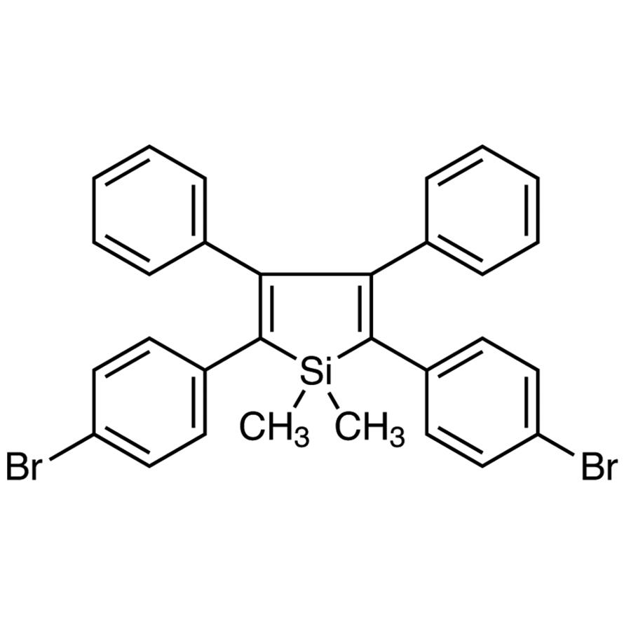 2,5-Bis(4-bromophenyl)-1,1-dimethyl-3,4-diphenylsilole