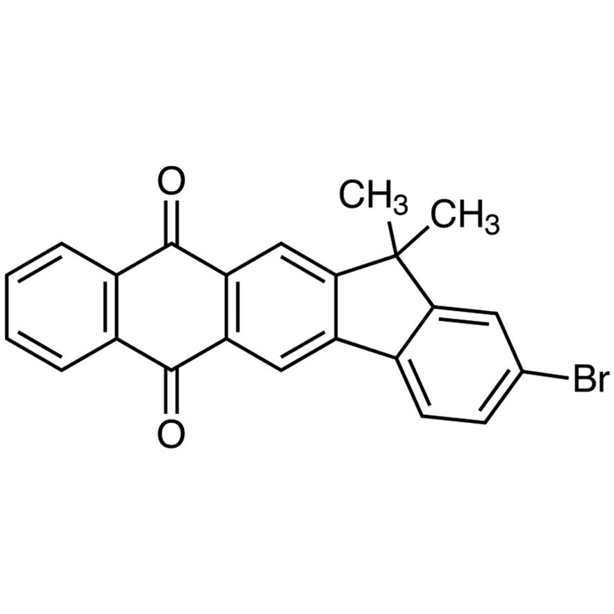 2-Bromo-13,13-dimethyl-6H-indeno[1,2-b]anthracene-6,11(13H)-dione