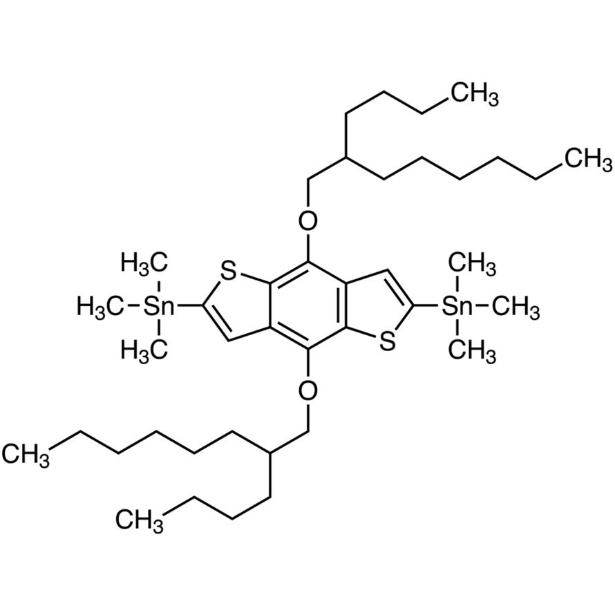 4,8-Bis(2-butyl-n-octyloxy)-2,6-bis(trimethylstannyl)benzo[1,2-b:4,5-b']dithiophene