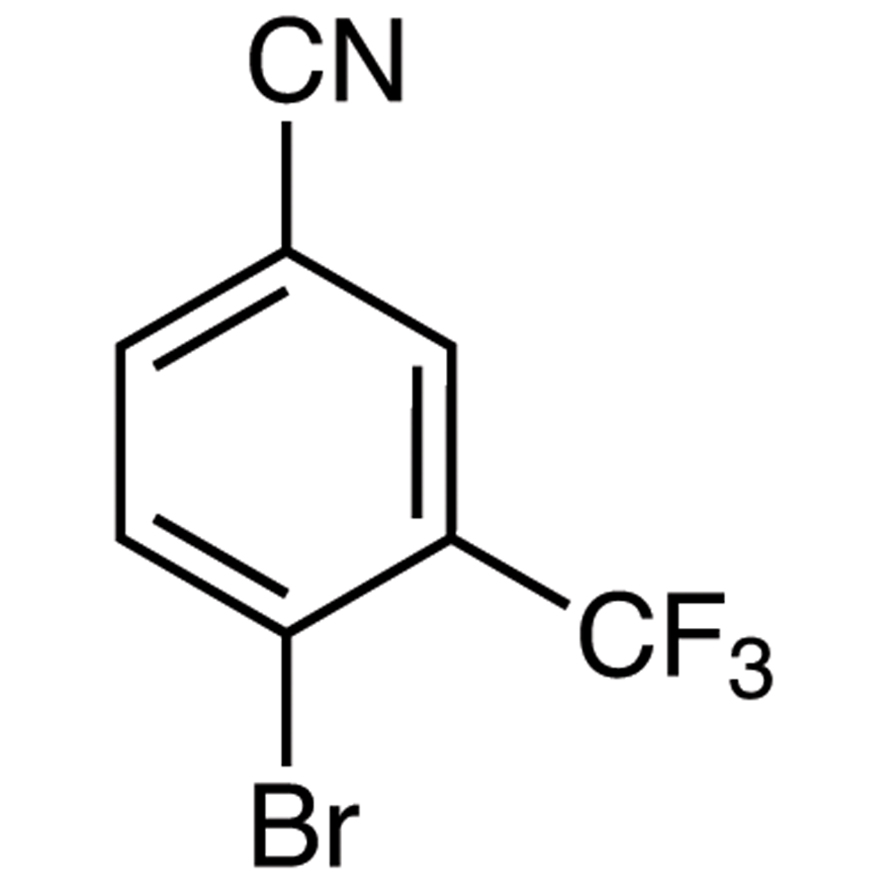 4-Bromo-3-(trifluoromethyl)benzonitrile