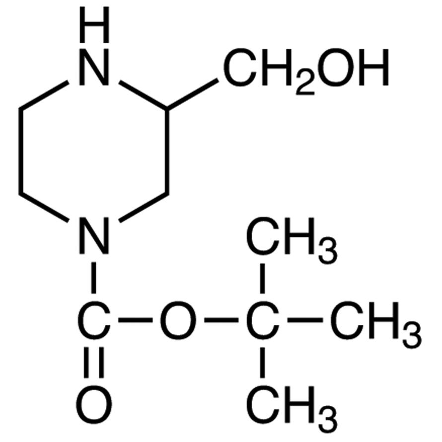 1-(tert-Butoxycarbonyl)-3-(hydroxymethyl)piperazine