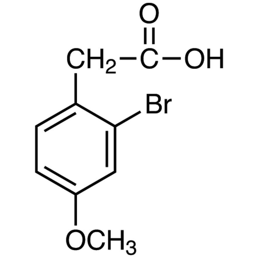 2-Bromo-4-methoxyphenylacetic Acid