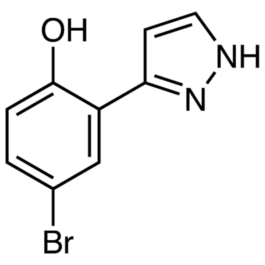 4-Bromo-2-(1H-pyrazol-3-yl)phenol