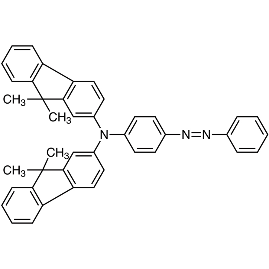 4-[Bis(9,9-dimethylfluoren-2-yl)amino]azobenzene