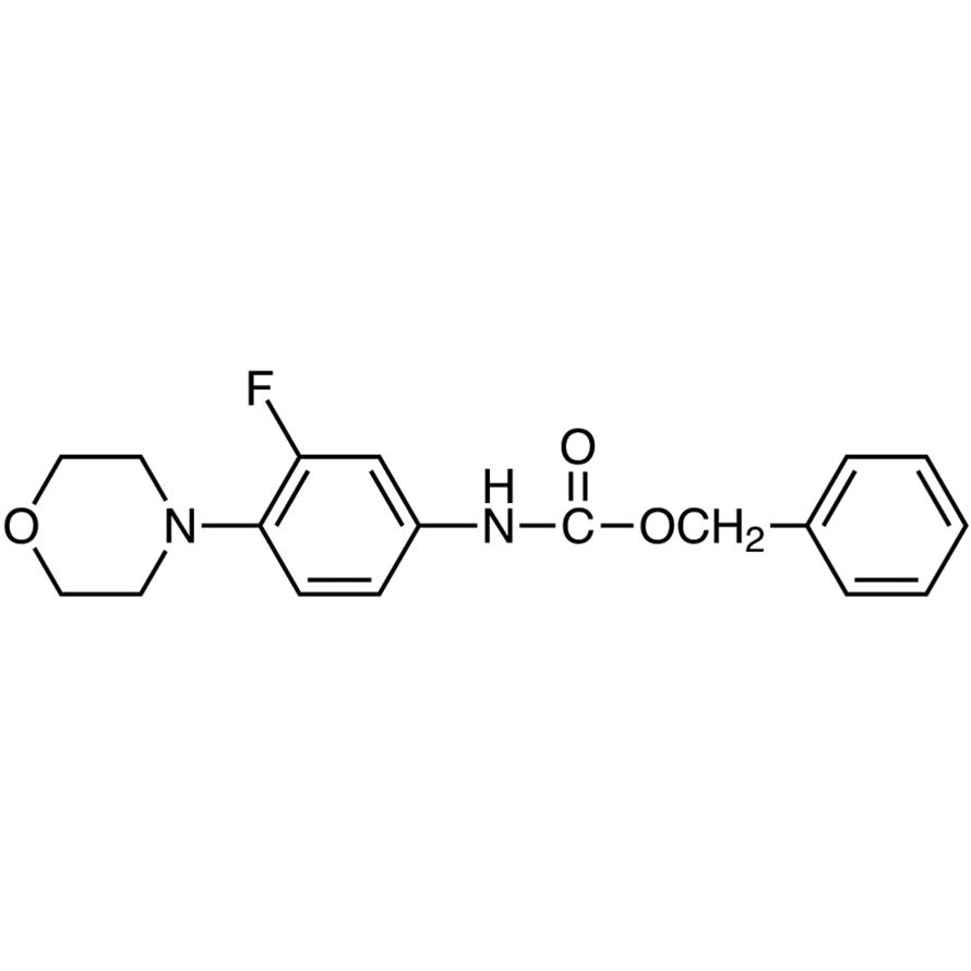 Benzyl (3-Fluoro-4-morpholinophenyl)carbamate