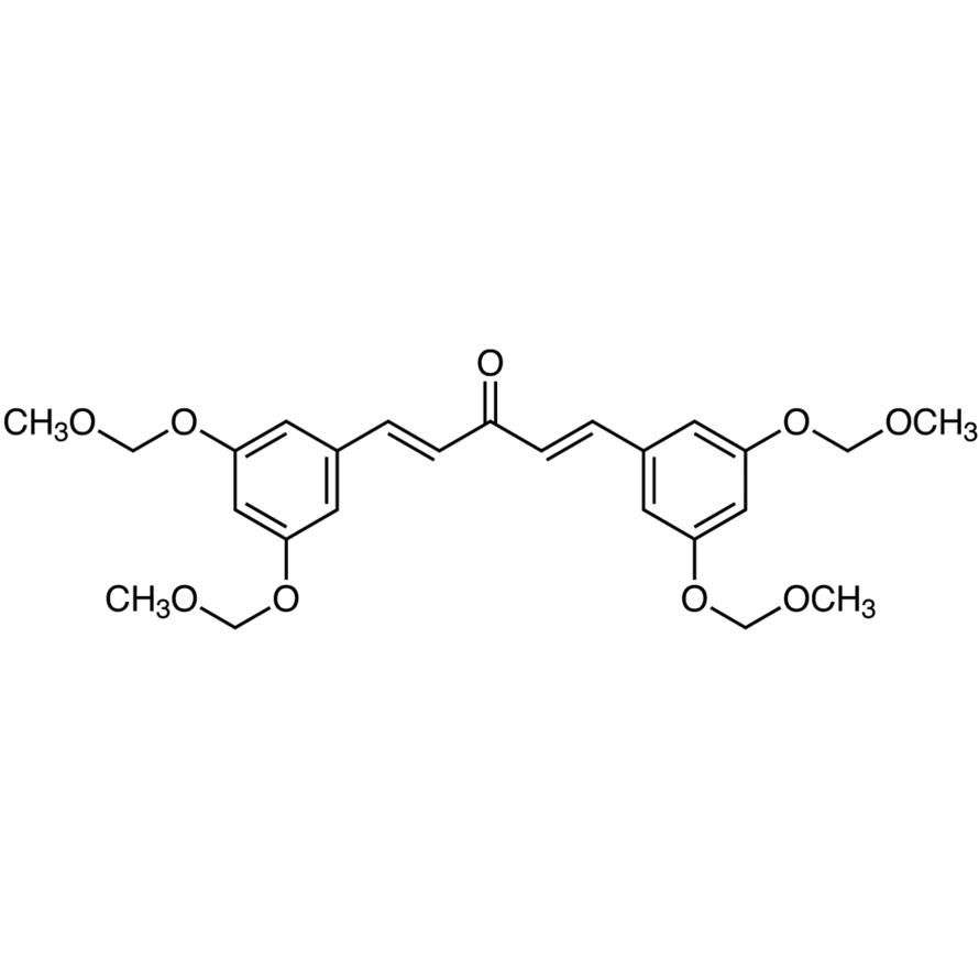 (1E,4E)-1,5-Bis[3,5-bis(methoxymethoxy)phenyl]-1,4-pentadiene-3-one