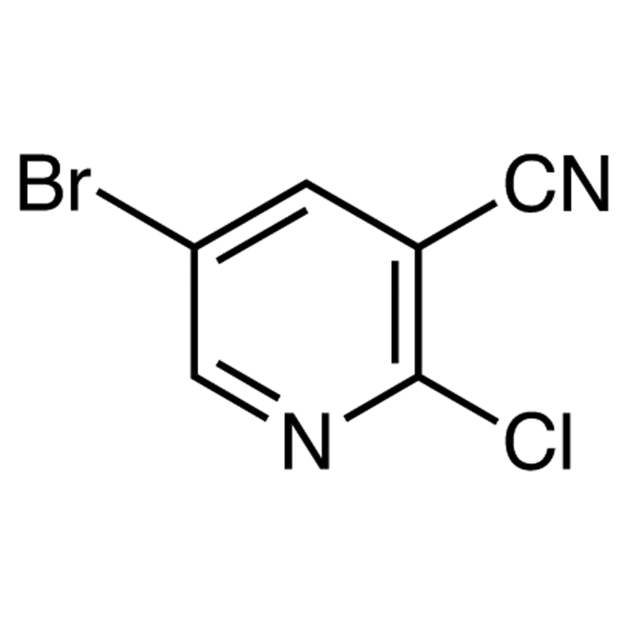 5-Bromo-2-chloro-3-cyanopyridine
