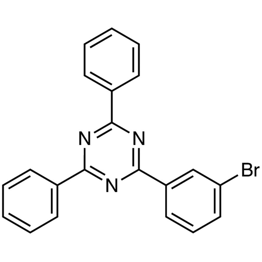 2-(3-Bromophenyl)-4,6-diphenyl-1,3,5-triazine