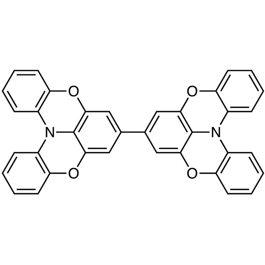 7,7'-Bi[1,4]benzoxazino[2,3,4-kl]phenoxazine