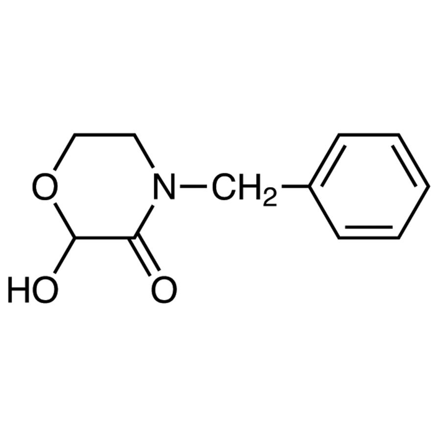 4-Benzyl-2-hydroxymorpholin-3-one