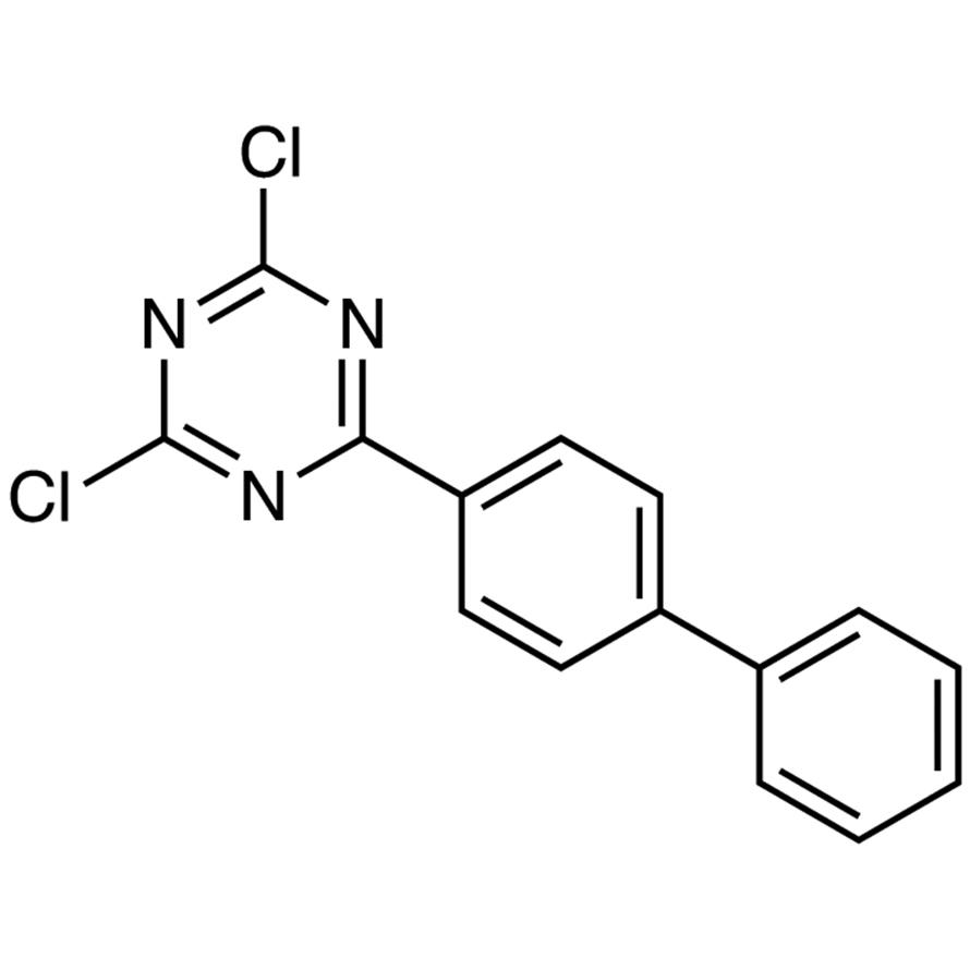 2-(4-Biphenylyl)-4,6-dichloro-1,3,5-triazine