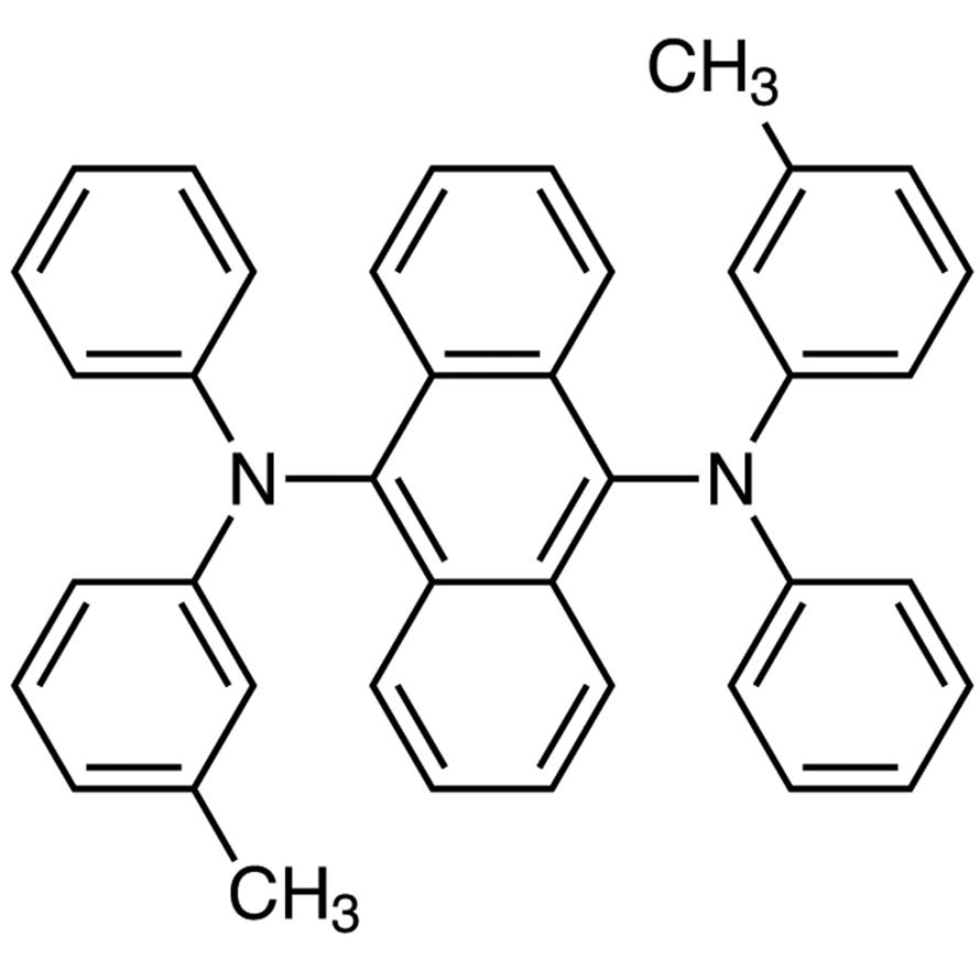 9,10-Bis[N-(m-tolyl)anilino]anthracene