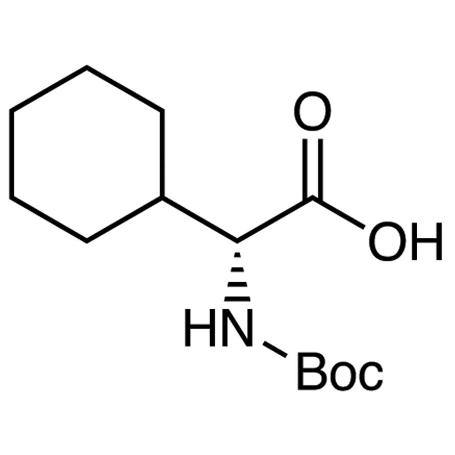 N-(tert-Butoxycarbonyl)-D-2-cyclohexylglycine