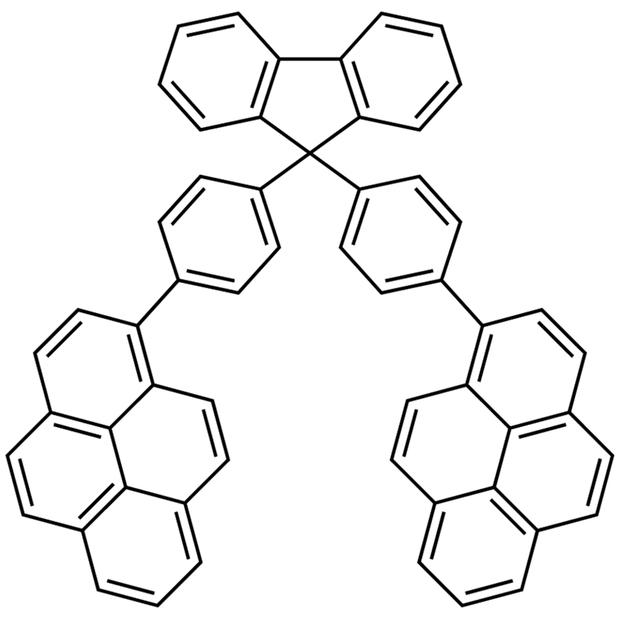 9,9-Bis[4-(1-pyrenyl)phenyl]fluorene